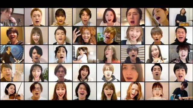 山崎育三郎さんら総勢36名の俳優や歌手が歌う『民衆の歌』に心震える…! 「歌を通じて明日への希望をもってほしい」