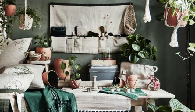 イケアから「屋内ガーデニング」を楽しめる限定コレクションが登場! ハンドメイドならではの素朴なデザインに和みます