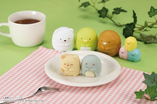 【ファミマ限定】すみっコぐらしの「食べマス」シリーズが猛烈に可愛い! 「ねこ」「とかげ」の2種類だよ