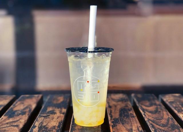 【ミスド限定】タピオカとシュワシュワ炭酸の組み合わせは、かなり美味しい! 夏の暑い時にピッタリだよ
