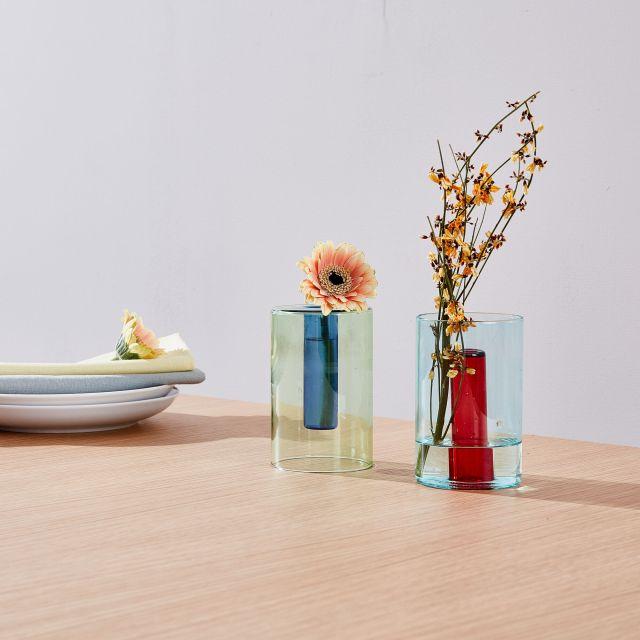 アートミュージアムの花瓶が美しくて涼しげ…MoMAミュージアムからガラスやアクリルのアイテムが登場しました