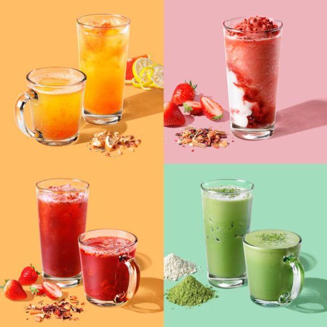 スタバから「ティー」に特化した店舗がオープン! フルーツを使った色鮮やかなティーやフラペチーノを堪能できるよ