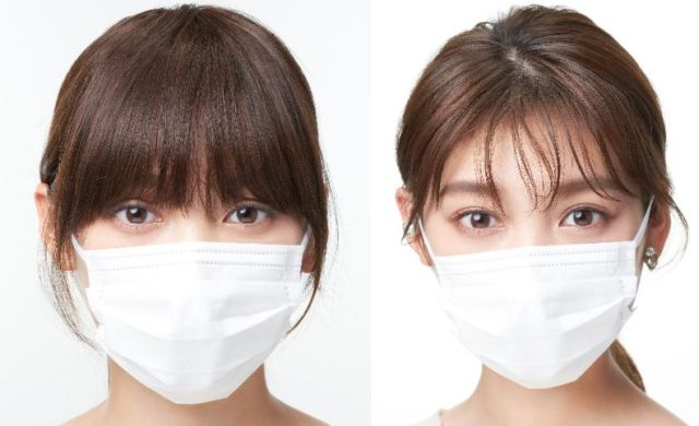 マスク顔のヘアメイクで大事なのは前髪と眉!  資生堂が「マスクメイクのポイント」を詳しく紹介しているよ