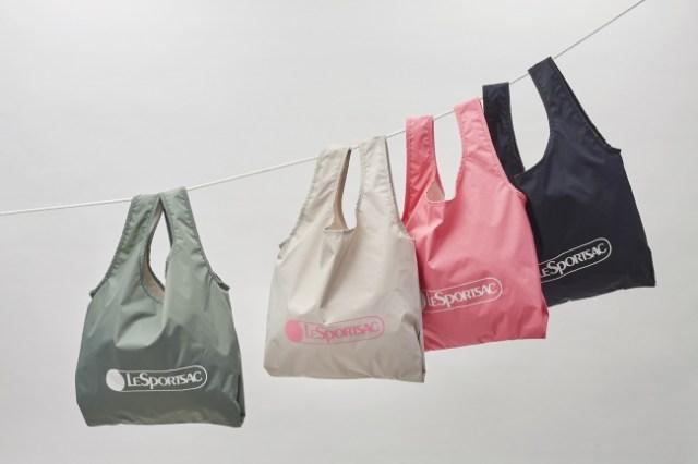 【日本限定】レスポートサックからエコバッグが発売されるよ~! フェミニンなピンク色もあってシンプルかわいい!