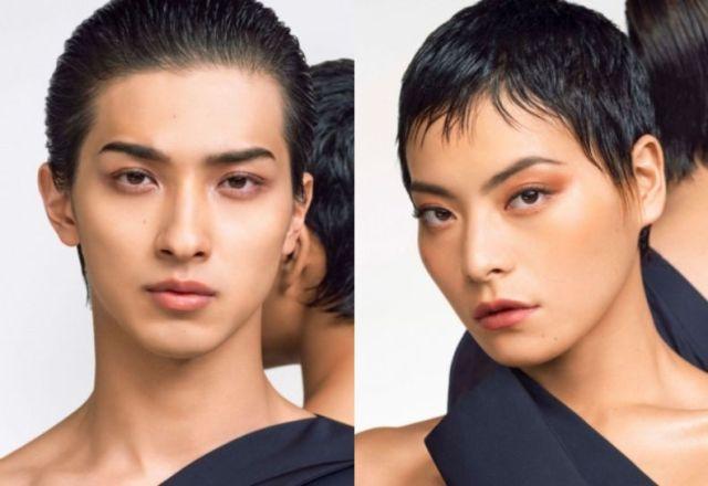 横浜流星がNARS「日本限定コレクション」のキービジュアルに登場! メイクをした顔が美しい