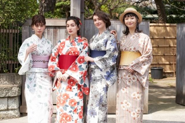 レトロ可愛い浴衣が1万円以下で発売に! 神田沙也加・小嶋真子が監修を務めたデザインも登場するよー
