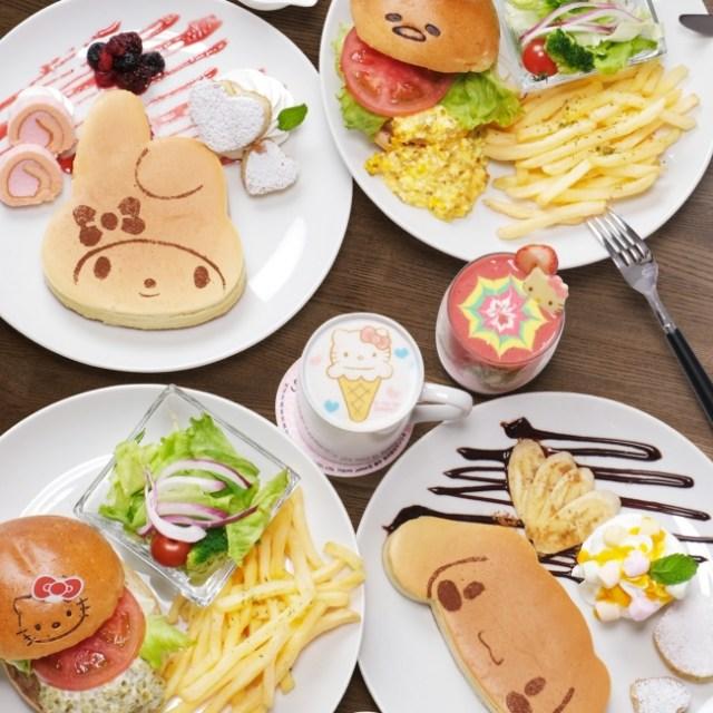 【テイクアウトOK】池袋サンシャインシティに「サンリオカフェ」がオープン! 心をほっこりさせるフード&ドリンクが揃っているよ
