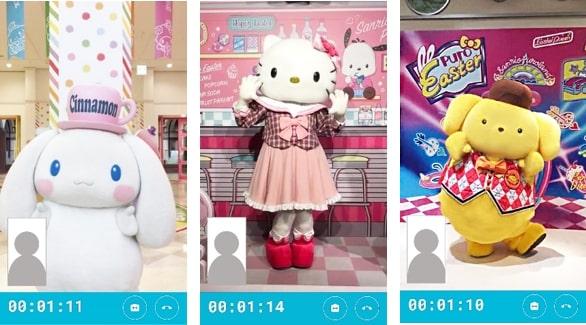 サンリオキャラクターと2分4000円でテレビ電話できる! ピューロランドがオンライングリーティングを開催するよ~