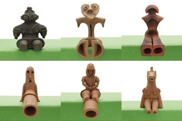 「土偶」や 「埴輪」が超精巧なカプセルトイに!! ちょこんとお座りした「座る土偶と埴輪」シリーズに癒やされる…