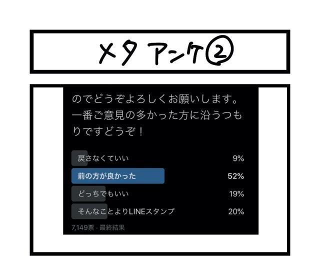 【夜の4コマ部屋】メタアンケ2 / サチコと神ねこ様 第1339回 / wako先生
