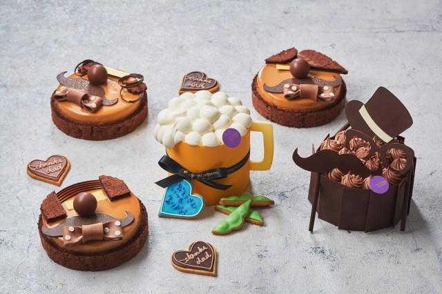 【父の日】まるで昭和のお父さん像をイメージした「バーコードヘア」「七三ヘア」のケーキが発売に! ホテルインターコンチネンタル東京ベイ