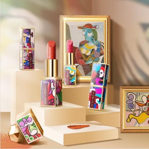画家のピカソとコラボした口紅が鮮烈! 代表的な名画にちなんだカラーとパッケージになっています