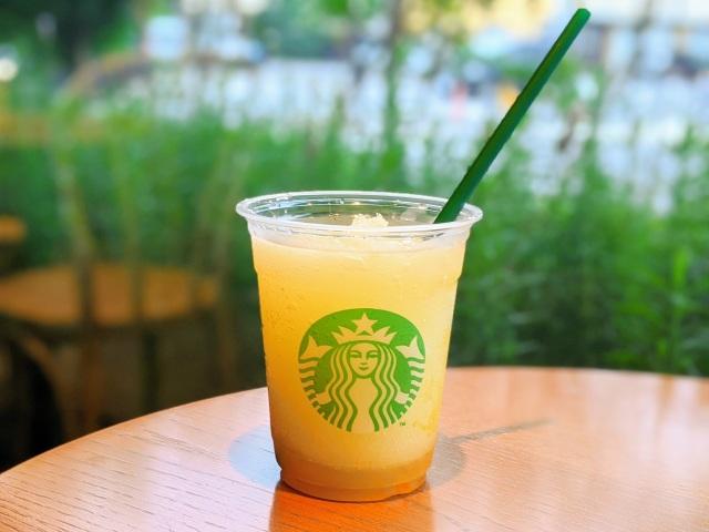 【スタバカスタム】コーヒー抜きが美味しい! 「コールドブリュー コーヒー フローズンレモネード」で濃厚レモネードを注文する方法