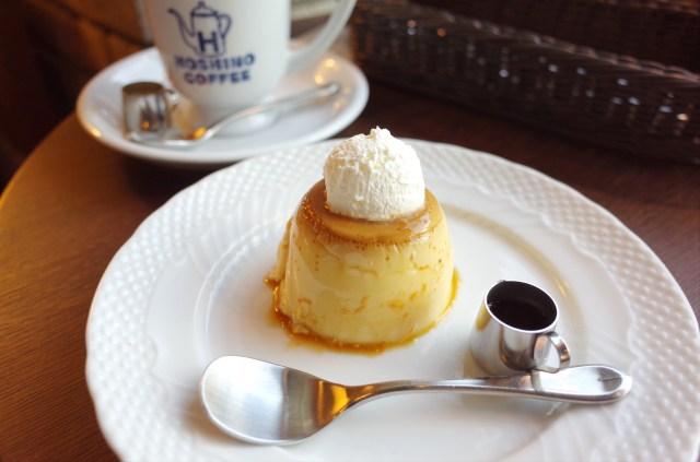 星乃珈琲店の限定メニュー「昭和のプリン」は むっちり感が尊い美味しさ…コク深いカラメルも最高です
