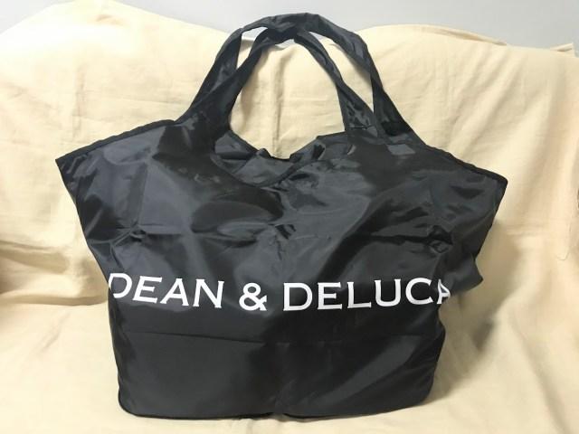 完売続出のGLOW8月号付録「DEAN&DELUCA」のエコバッグは超惜しい! レジかごサイズで大容量だけど耐荷重に注意が必要です
