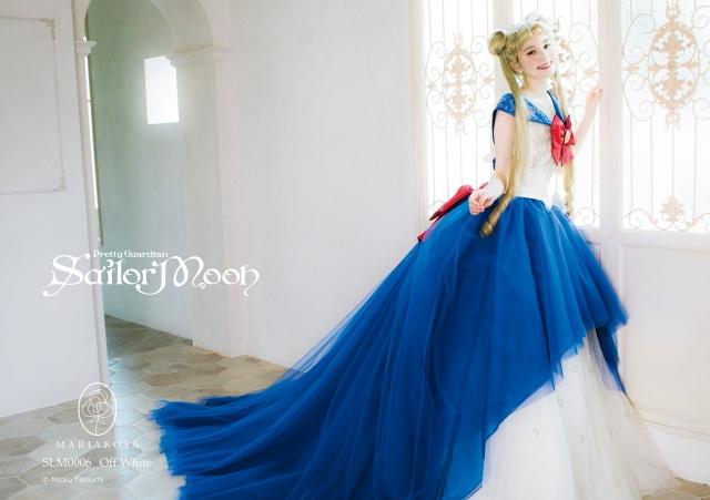 美少女戦士セーラームーンのウェディングドレスが再現度高すぎっ! プリンセス・セレニティをイメージしたドレスも