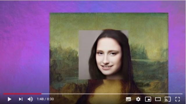 """AIが名画の美女達を """"現実の女性"""" として動画で再現! 「モナ・リザ」や「真珠の耳飾りの少女」などリアルで感動します"""
