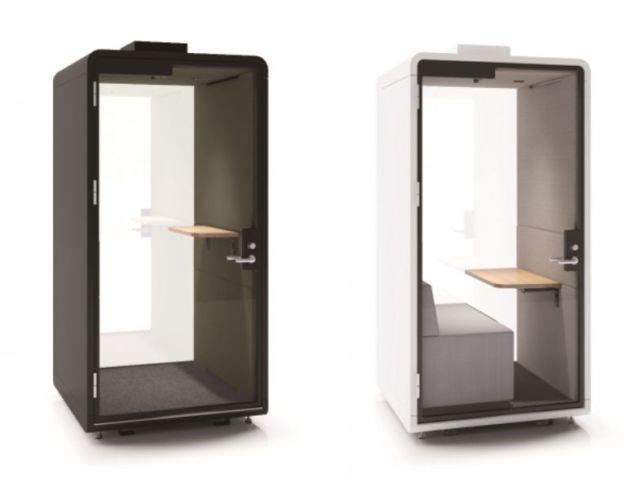 コクヨの「ひとり用オフィス」が画期的! 大きなガラス面で開放感あり・換気もバッチリです