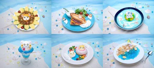 「ハム太郎カフェ2020(にーたねにーたね)」が東京・埼玉・大阪に期間限定オープン! 海をイメージした「青いメニュー」が揃ってます