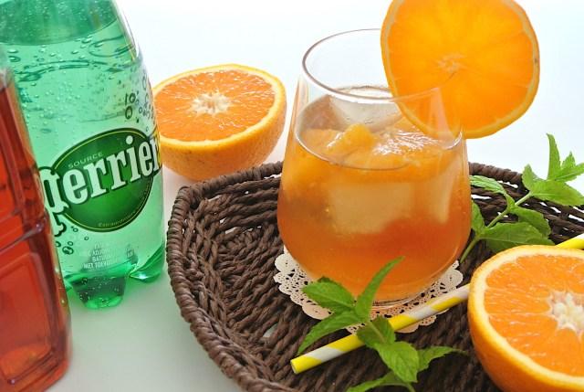 【簡単レシピ】市販のアイスティーと炭酸水で作る「スパークリング・アイスティー」は夏にオススメのドリンクだよ