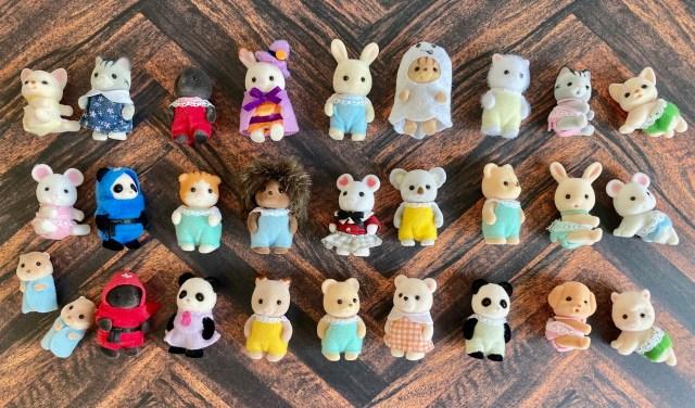 「シルバニアファミリー好きあるある」7選 / 気づくと赤ちゃん人形が増えている、100均パトロールが日課に…他