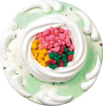 サーティーワンに「ポッピングシャワー」のスペシャルなケーキが発売されるよ~! さらにパチパチ食感を加えた20周年特別バージョンです