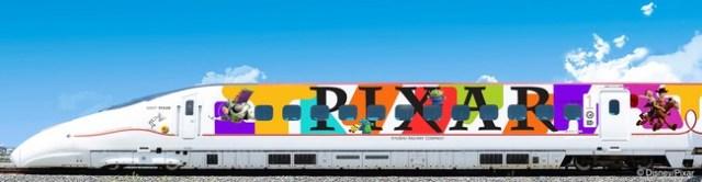 【JR九州】今年はピクサーデザインの新幹線が九州を走る! ウッディやニモたちと一緒にワクワクの冒険の旅へ出かけよう