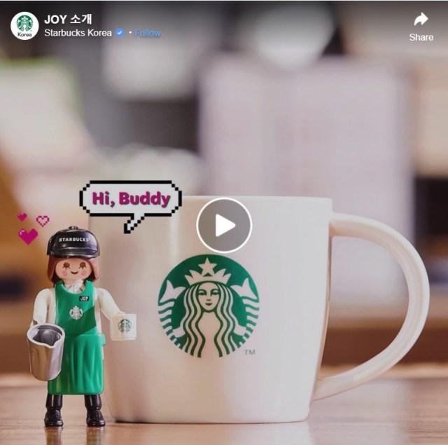 韓国スタバのプレイモービルコラボがかわいい! スタバのスタッフ姿をした人形が発売されるよ~!