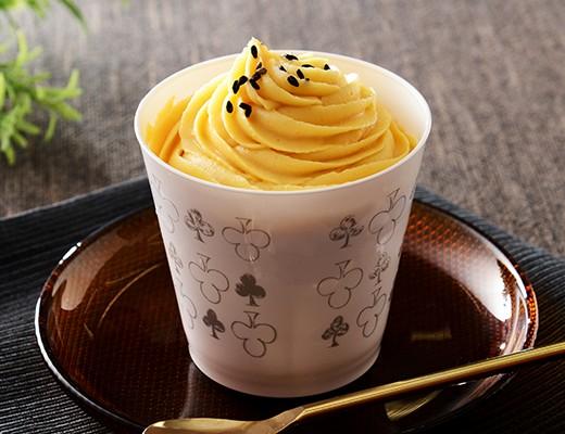 安納芋を使った王道系モンブランがローソンで発売されるよ〜! カップケーキタイプで食べやすさも満点です