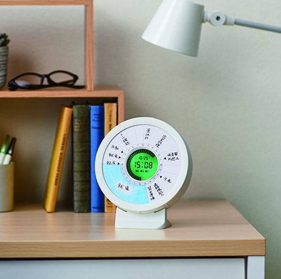 忘れがちなゴミ出し予定をアラームで管理してくれる! 新感覚の習慣時計「ルクル」が便利そう〜!