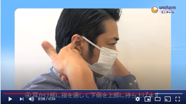 マスク 付け方 が 耳 痛く ならない の