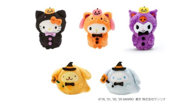 今年はおうちでハロウィン♪ キティちゃんやシナモンがお化けやカボチャに変身したサンリオのハロウィングッズがかわいすぎるよ~!