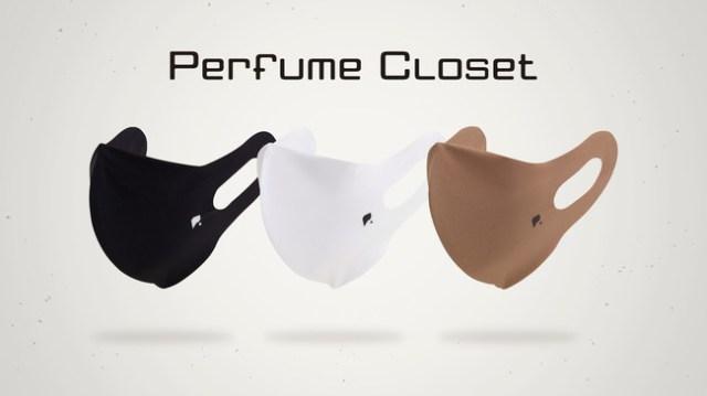 Perfumeの「衣装の裏地素材」を使ったマスクが発売されるよ~! 水をはじく特殊素材と立体構造で息苦しさを軽減