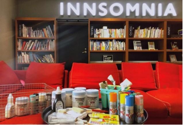 ホテルの壁に思いっきり落書きできる! もうすぐ閉館するインソムニア 赤坂に「落書きOKルーム」が登場