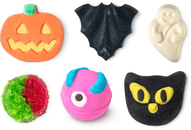 今年もラッシュにハロウィンアイテムがやってきた! コウモリやかぼちゃ型のバスボムに暗闇で光るソープなどが勢ぞろい