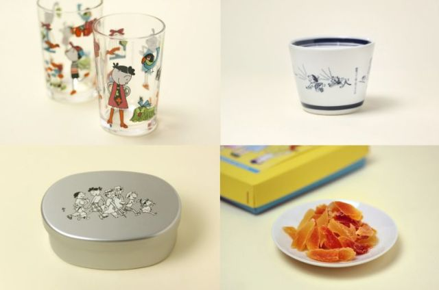 長谷川町子記念館のオリジナルグッズがレトロかわいい~♡ お弁当箱やコップなど日常使いできるアイテムがいっぱいだよ