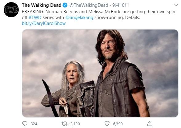 海外ドラマ『ウォーキング・デッド』がシーズン11で終了! 人気キャラのダリル&キャロルにまつわる嬉しい発表も…!!