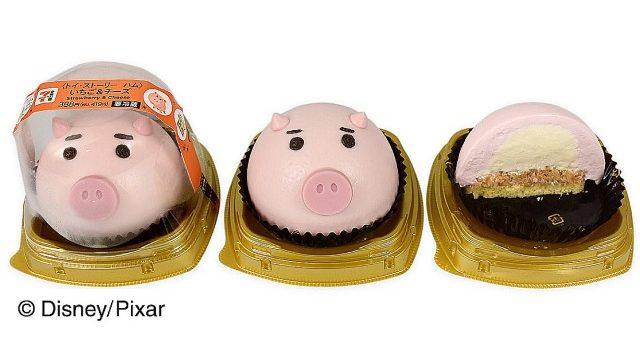セブンイレブンの『トイ・ストーリー』ケーキの再現度がすごい! エイリアンとハムの顔がモチーフになってるよ〜