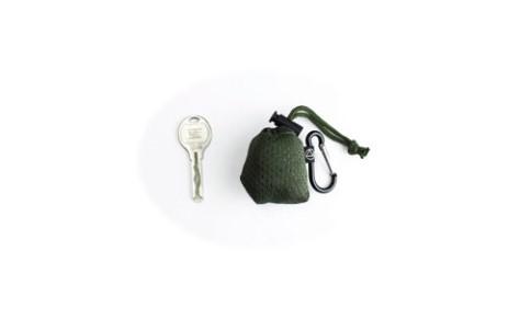 ポケットに入る「鍵より小さいエコバッグ」がヴィレヴァンに登場! カラビナ付きで畳まなくていいから超手軽に持ち運べるよ