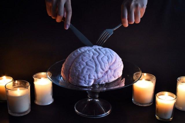 パパブブレの「世界一美味しい脳みそマシュマロ」のビジュアルが強烈インパクト…どこからどう見ても「脳みそ」です