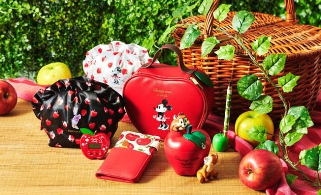 ディズニーストアの秋アイテムは真っ赤なりんごモチーフ! デスクやドレッサーがパッと華やかになるアイテムにうっとり…