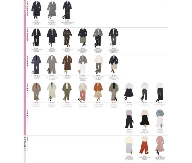 「こんな仕事の場面では何を着ればいいの?」がひと目でわかる! 洋服の青山の「ビジネスウェアガイドマップ」がめちゃめちゃ参考になる