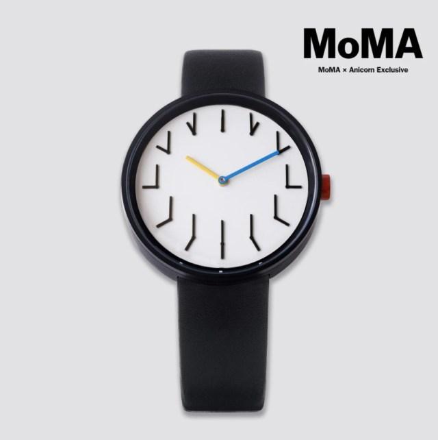 時計の針が「時計の針」を指し示す!? MoMA×Anicornコラボの腕時計が独創的すぎるのです