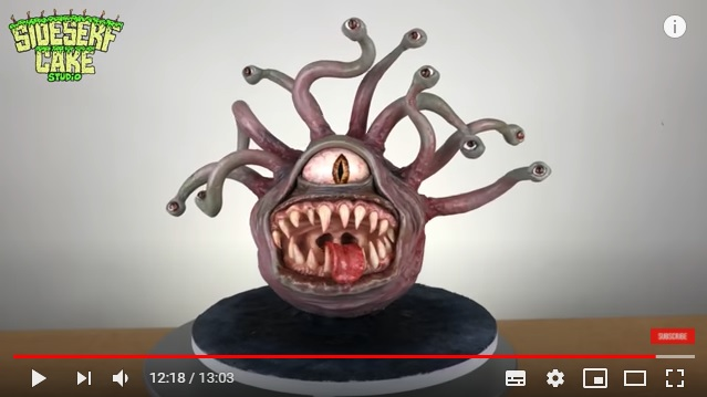 パティシエが作り出す「怪物ケーキ」がホラー映画に出てきそうグロテスクさ! これが甘~いケーキだなんて嘘でしょ…!?