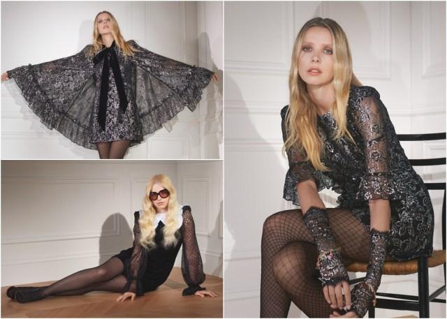 H&Mのゴシックコレクションがダークで素敵…! ブラックレースの妖艶な雰囲気のワンピや付け襟がプチプラでそろいます