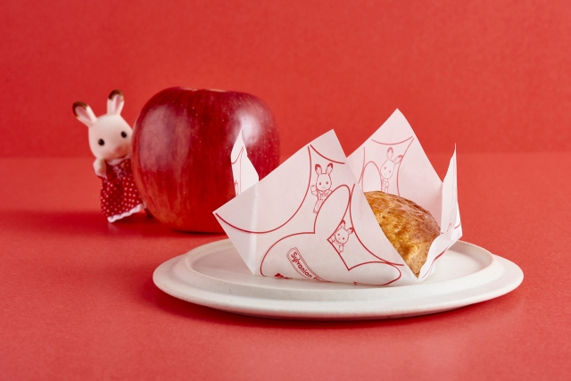 シルバニアファミリーとアップルパイ専門店「RINGO」のコラボが可愛すぎ♡ マロンを使ったアップルパイや限定パッケージも