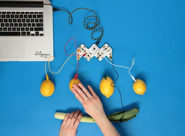 カボチャもパイナップルも人間も楽器に大変身⁉︎  「プレイトロニカ」の次世代楽器がめちゃめちゃ楽しそう♡