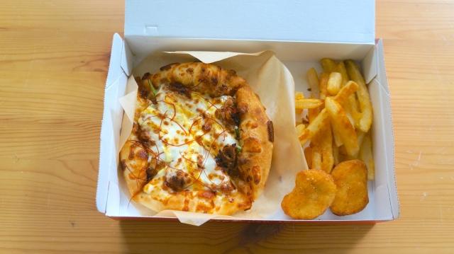 ピザハットのおひとりさま専用ピザセット「マイボックス」を注文してみた!  食べたいときにひとりでもピザが食べられる喜びよ…