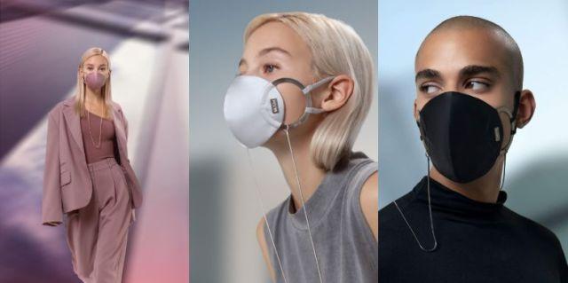 マスクというより「ジュエリー」! 装着するだけでモードになるマスクが登場したよ / 個性溢れるイヤーカフも話題です