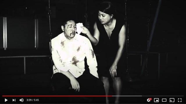 チョコプラ長田の「傷だらけで歌ってみた動画」第2弾もツッコミどころ満載! 「頭に何か刺さってる」「IKKOさんの手当て」「謎のブランコシーン」など